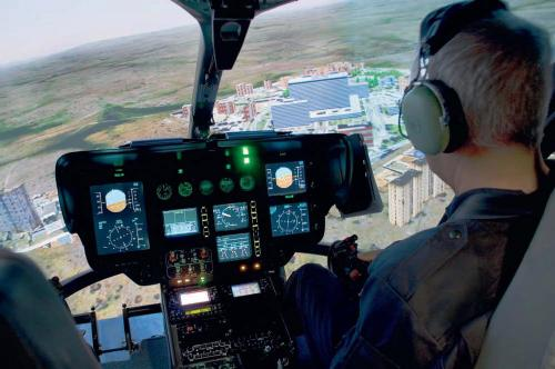 Rotor On Line A Publication Of Eurocopter Ec135 Simulator