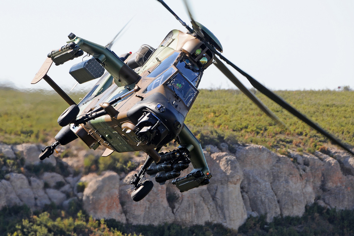 Military Helicopters The Tiger Specialized Helicopter