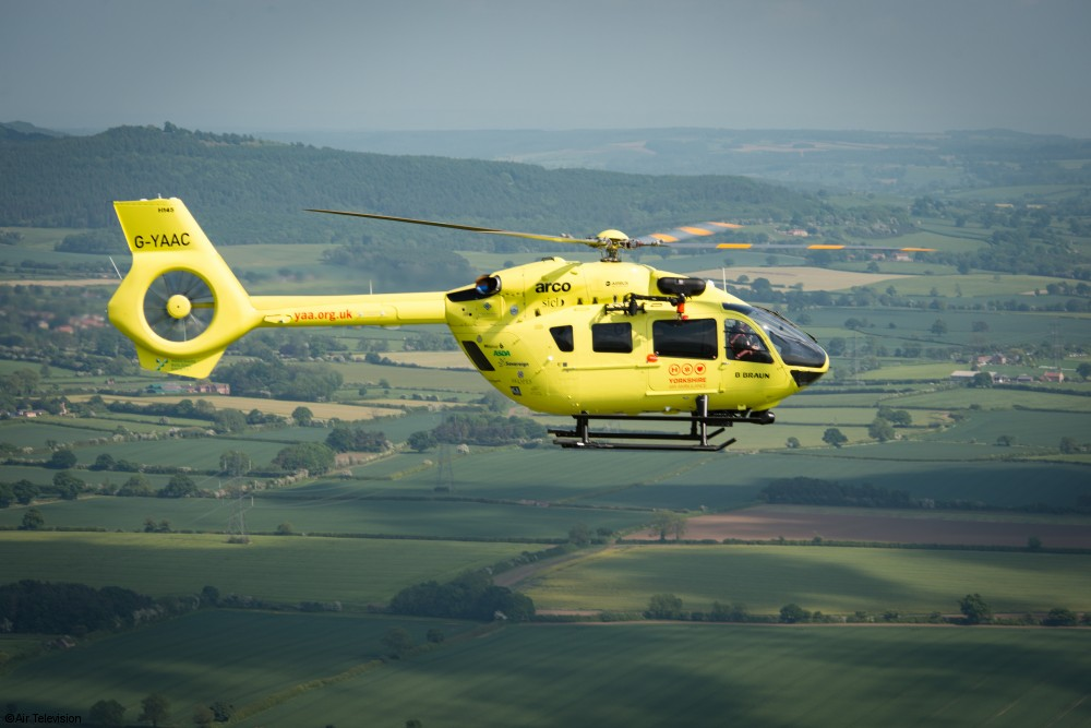 FIA 2016 UK Air Ambulances Save Lives With The H135 And H145